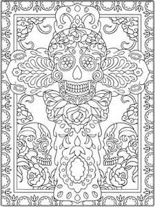 dia de los muertos coloring book el dia de los muertos skulls coloring pages az coloring
