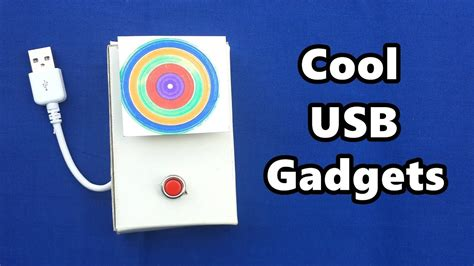4 cool usb gadgets you can make at home diy tutorials