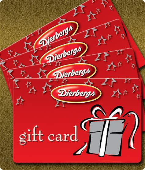 Stack Of Gift Cards - gift cards dierbergs markets