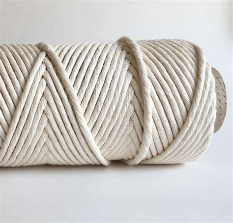 macrame cord ecru macrame cord fiber rope 100 cotton rmc
