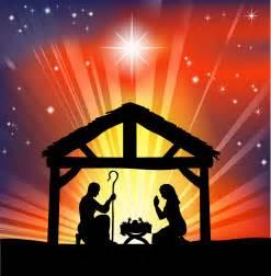 Nativity manger star of bethlehem baby jesus in bethlehem manger