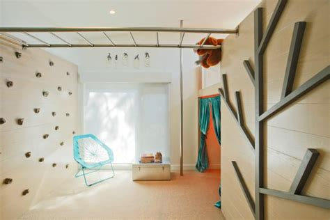 climbing wall in bedroom photo page hgtv