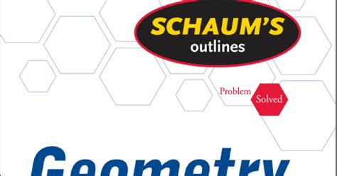 Schaums Outline Geometry Free by For High School Free Maths Book Geometry 4th Edition Schaums Outline