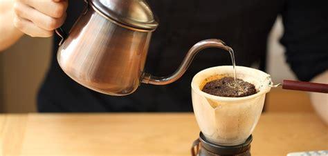 membuat kopi  nel drip majalah otten coffee