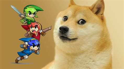 Original Doge Meme - how triforce heroes meme references and controversy