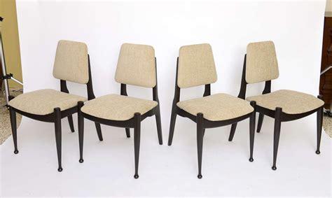 50s modern furniture four greta grossman style ebonized 50s modern dining chairs at 1stdibs