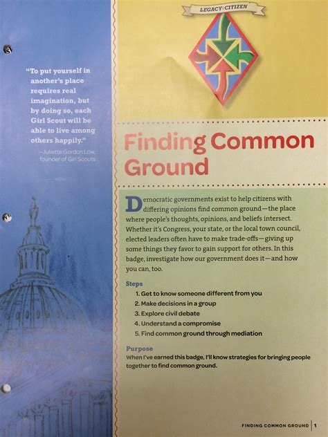 How To Find Common Ground With Finding Common Ground Badge