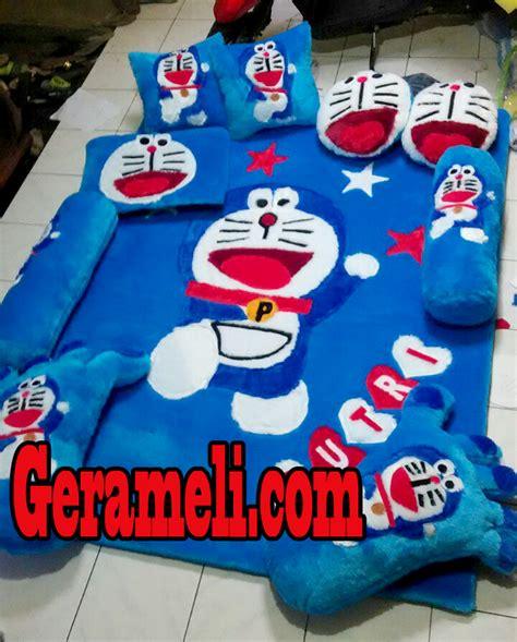 karpet bulu rasfur kepala doraemon 10 motif karpet bulu karakter yang banyak disuka balajar