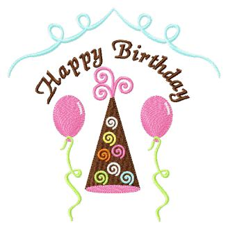 free happy birthday machine embroidery design happy birthday to you fill or applique machine embroidery
