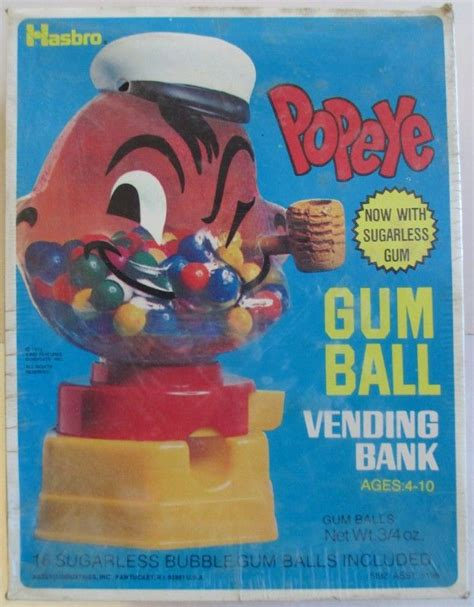 tarco bank popeye gum vending bank popeye the sailorpedia