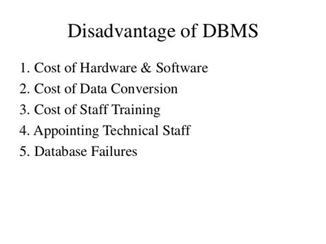 Disadvantages Of Mba In Hr by Mba I Ifm U 3 Operating Systems