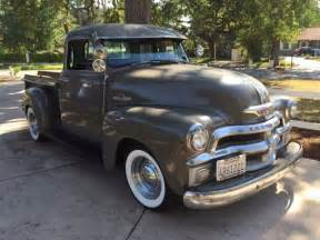 early 1955 chevy 5 window up truck for sale photos