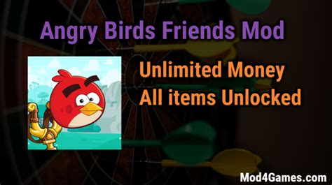 mod game unlimited money angry birds friends unlimited money game mod apk free