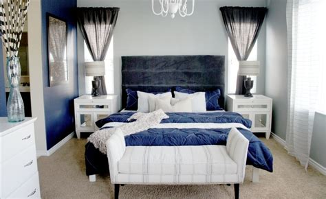 gray and navy blue bedroom navy blue and gray bedroom