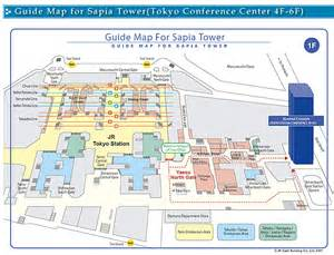 Tokyo Station Floor Plan by Guide Map For Sapia Tower Tokyo Conference Center 4f 6f