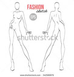 fashion sketch stock images royalty free images amp vectors