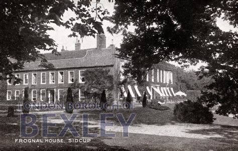 houses to buy in sidcup pcd 1823 frognal house sidcup c 1910 bexley borough photosbexley borough photos