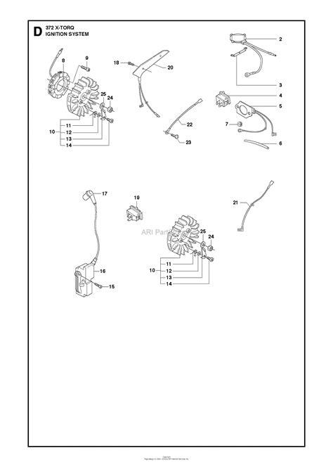 husqvarna  xp  torq   parts diagram  ignition system