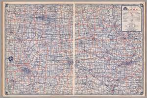 detailed map of iowa image gallery iowa road atlas