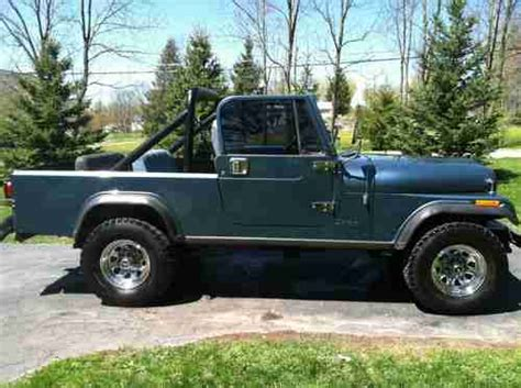 jeep scrambler blue buy used 1983 jeep scrambler cj8 in greentown