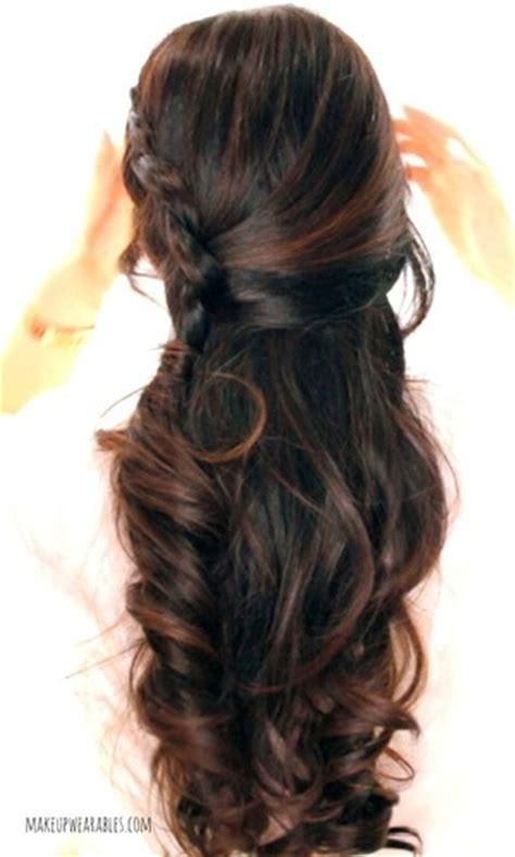 curly hairstyles half up half down tutorial tina makeupwearables l s makeupwearables photos