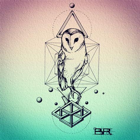 geometric tattoo ohio geometric owl tattoo arm google s 248 gning possible arm