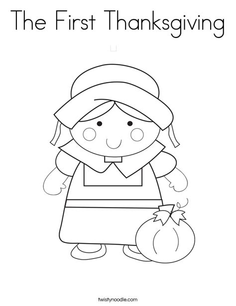 coloring pages for the first thanksgiving the first thanksgiving coloring page twisty noodle