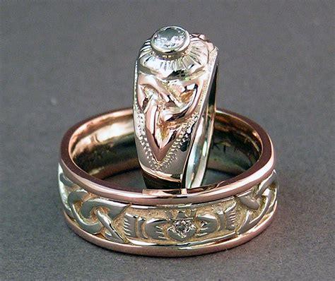 variations on a celtic knot custom celtic wedding rings