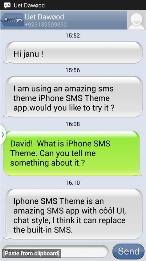 themes for iphone text messages free app iphone sms theme good news for android users