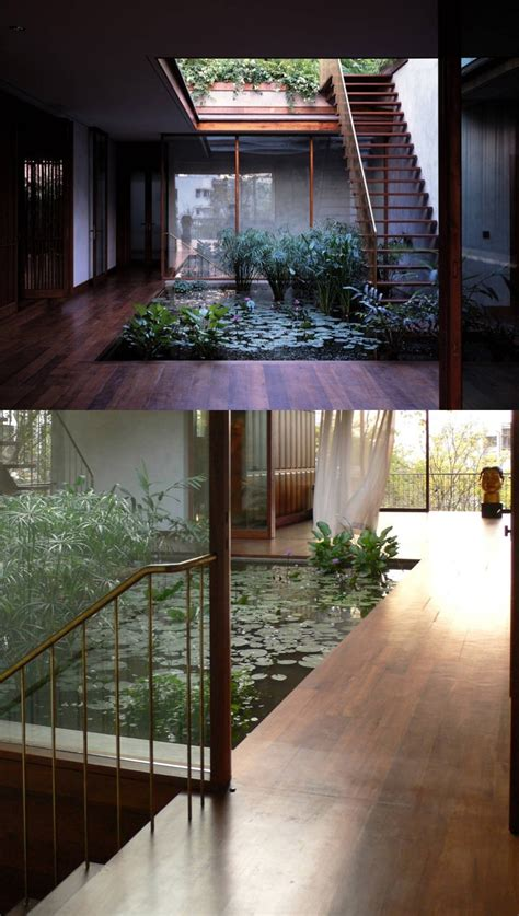 indoor ponds homes with indoor ponds
