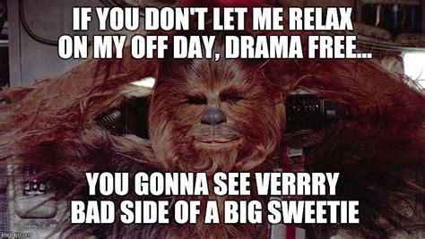 Chewbacca Meme - chewbacca relaxed imgflip