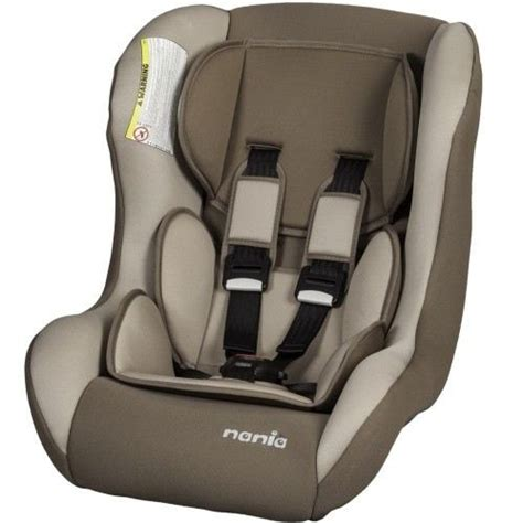 nania si 232 ge auto trio sp comfort gr 0 1 2 browny achat