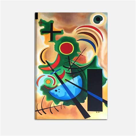 cuadros de kandinsky cuadros abstractos kandinsky pintado a mano 100 made in