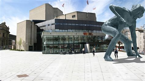 theatre royal plymouth bronze sculpture gets the go ahead theatre royal