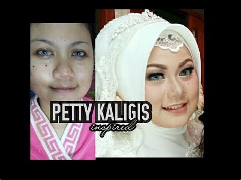 Makeup Petty Kaligis tutorial makeup wedding kekinian petty kaligis inspired