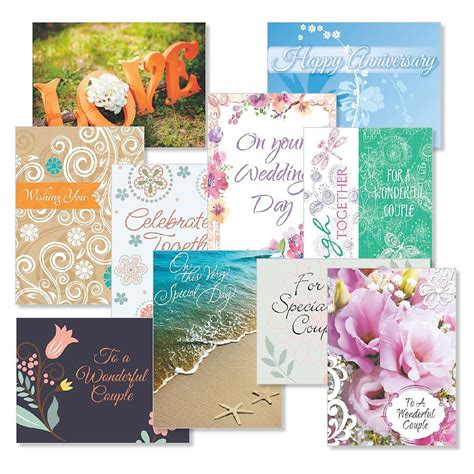 Gift Card Value - wedding anniversary greeting cards value pack current catalog
