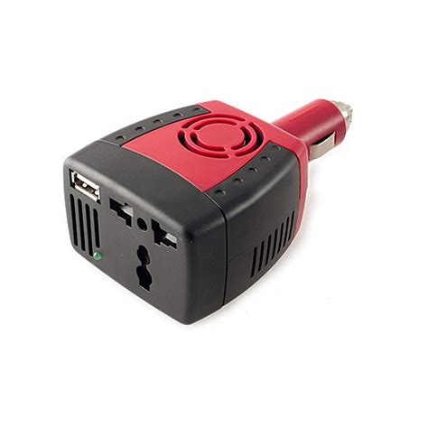 Inverter 150 Watt B 12 150 Colokan Charger Aki Mobil Kbm Handal 150w car power inverter charger adapter 12v dc to 220v ac