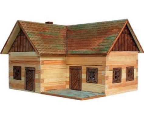 como hacer maquetas de madera casa rural de madera casita miniatura de 154 piezas