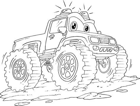 coloring pages monster trucks monster truck free coloring pages