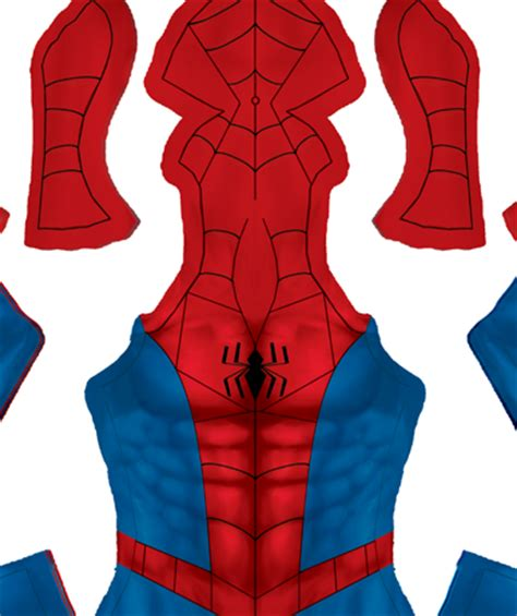 spiderman suit pattern free spectacular spider man