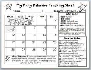 Conduct Sheet Template by Behavior Calendar Template I Am Going To Tweak This To