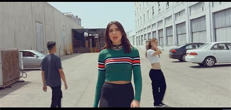 dua lipa lost in your light sweater green red dua lipa lost in your light wheretoget