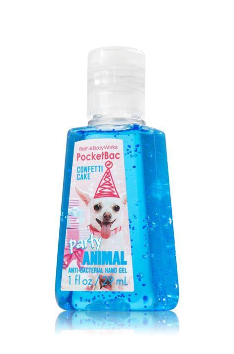 Anti Bacterial Pocketbac Sanitizing Gel I Cake 1 Fl Oz 29 Ml confetti cake works and bath works on
