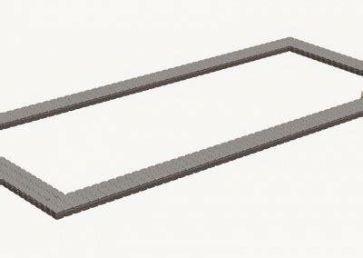 floats components for floating platform modular pontoons - Pontoon Components