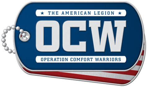 Operation Comfort Operation Comfort Warriors The American Legion