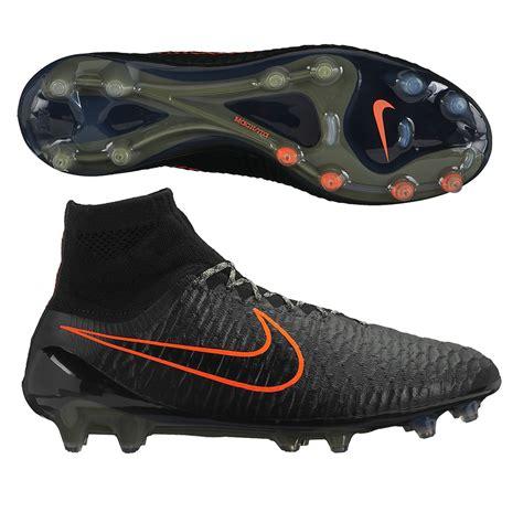 nike black football shoes nike magista obra fg soccer cleats black green