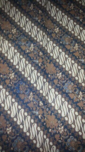 Parang Seling batik sogan parang seling sogo genes pewarna alami