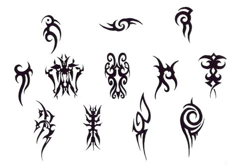 pin small tribal tattoos for men tattoowherecom on pinterest