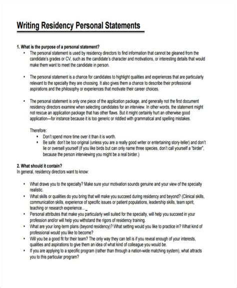personal statement personal statement residency ucsf