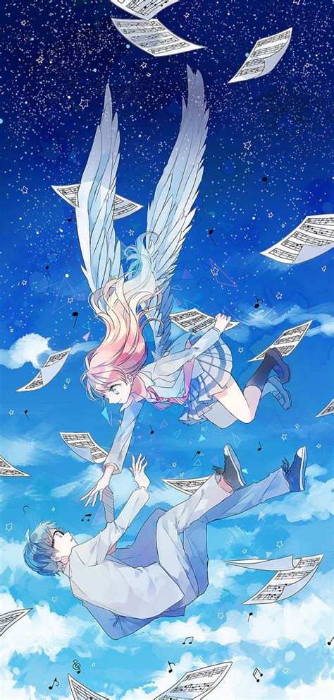 wallpaper anime shigatsu shigatsu wa kimi no uso 1812123 zerochan